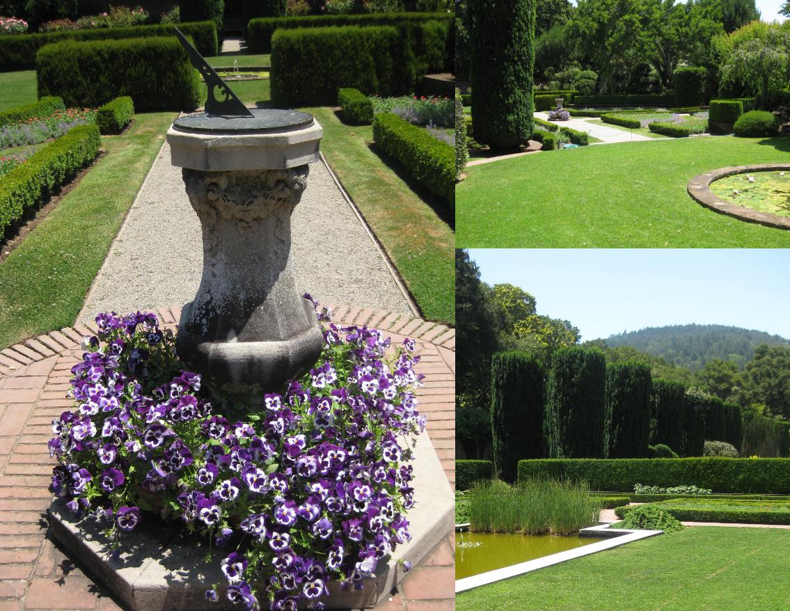 A summer walk through filoli gardens simplified bee - When you walk through the garden ...