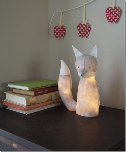 fox table lamp how to pattern