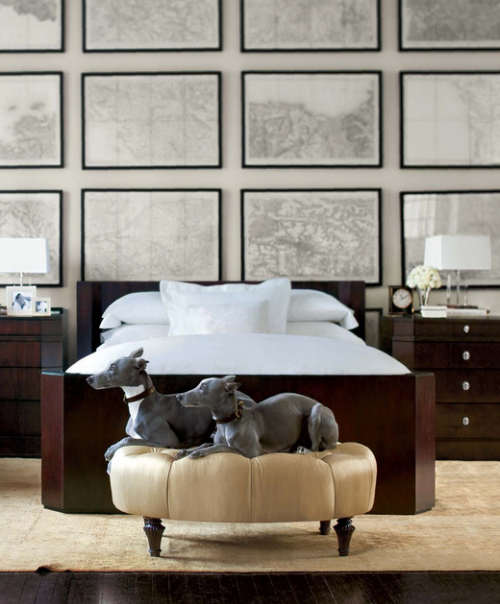 Decorating ideas using maps simplified bee framed maps wall art ralph lauren gumiabroncs Images
