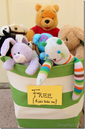 free stuffed animals to kids