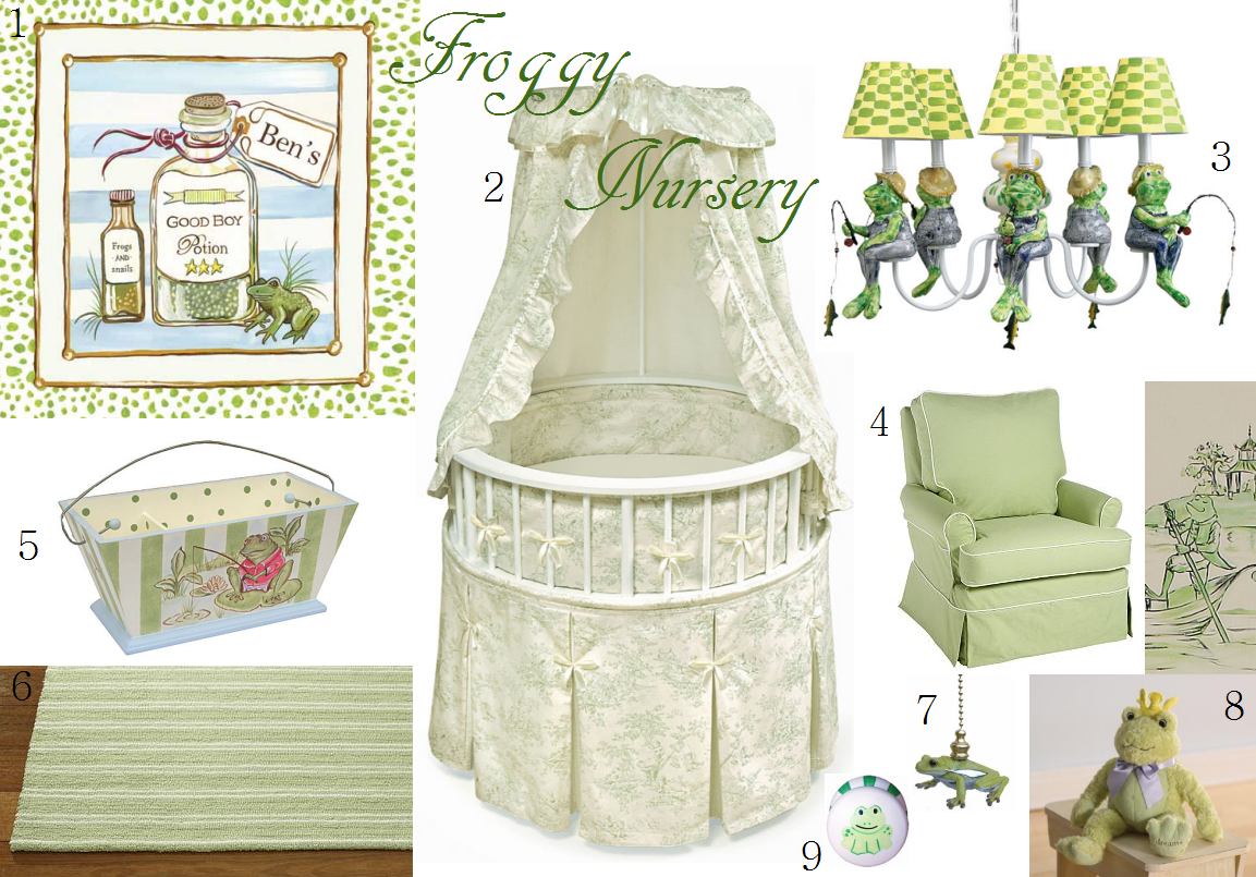 Stunning Princess and Frog Prince Nursery Bedding 1153 x 805 · 1125 kB · png