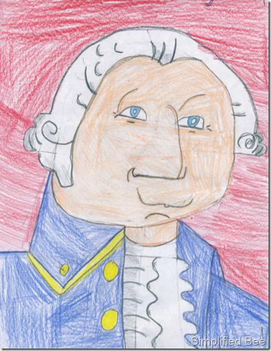 george_washington_drawing_kids