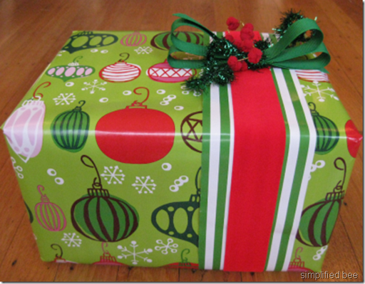 gift wrap how to complete