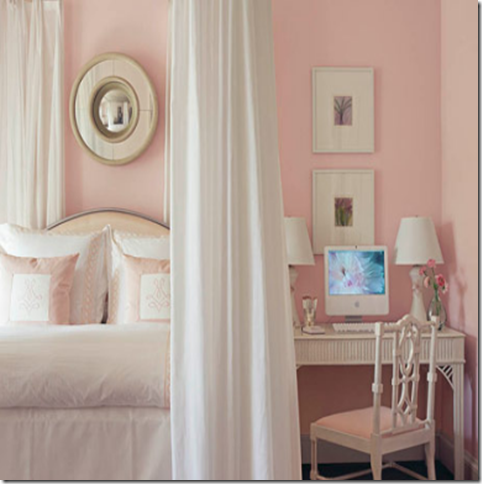 Designer Rooms Little Girls Bedroom with Canopy Beds Simplified Bee