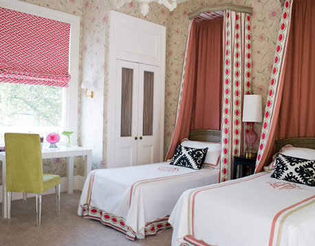 Designer Rooms Little Girls39 Bedroom With Canopy Beds Simplified
