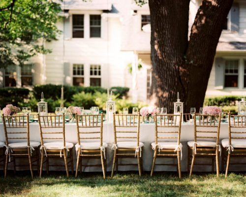gold-bamboo-chairs-dining-event