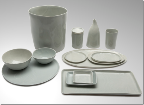 gray ceramic bath accessories