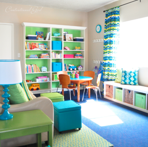 Playroom Design With Centsational Girl Simplified Bee