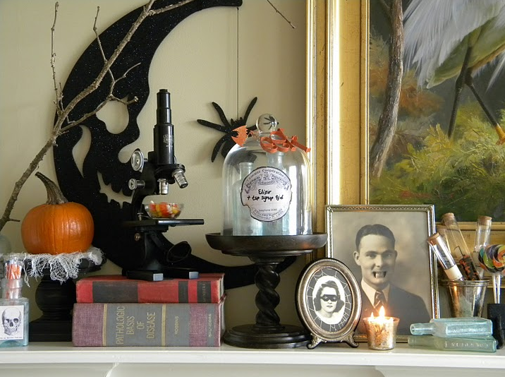 My Fave &amp Frightful Halloween Decorating Ideas from - My Halloween Decorations