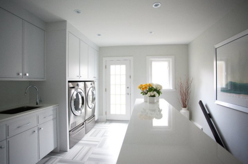 Beautiful Efficient Laundry Rooms - Simplified Bee