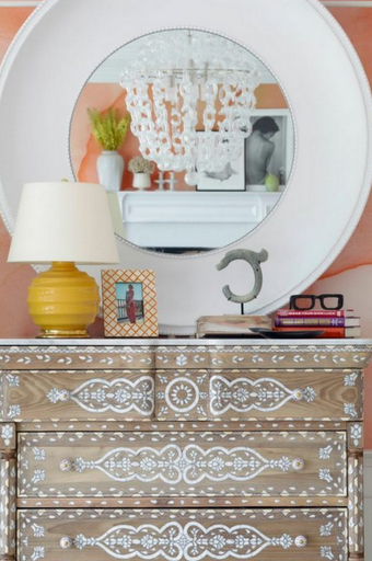 Hamptons Design Showhouse 2012 - bone inlay chest