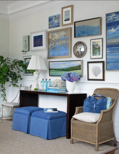 hamptons-showhouse-art-wall-den