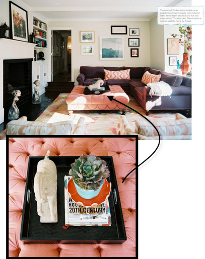 how to style a coffee table designer