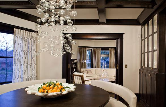 Glamorous 4 square remodel jessica helgerson design for Dining room ideas australia