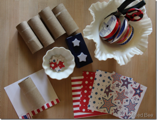 july 4th rocket garland how to