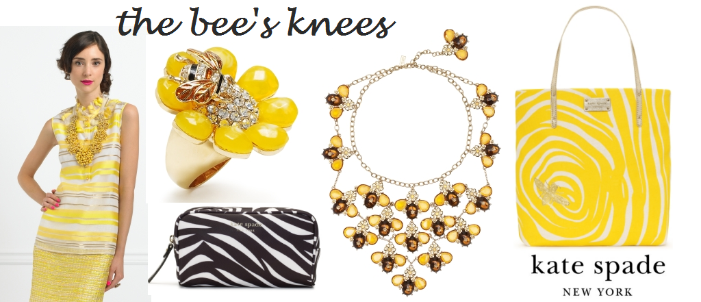 Friday Find Kate Spade Bees Love And A Dent In My