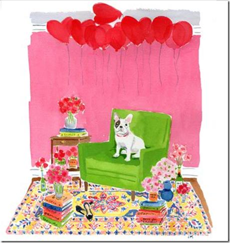 Kate Spade Valentine Ecard Dog