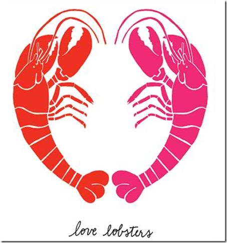 Kate Spade Valentine Love Lobsters