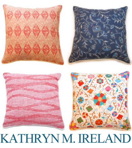 kathryn m ireland pillows