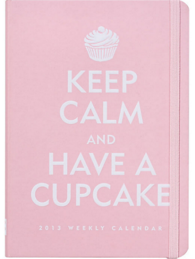 keep-calm-and-have-cupcake-2013-planner