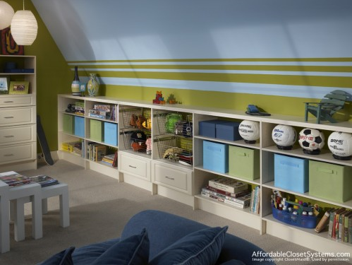 How to design an organized stylish kids 39 playroom simplified bee - Boys rooms with playrooms ...