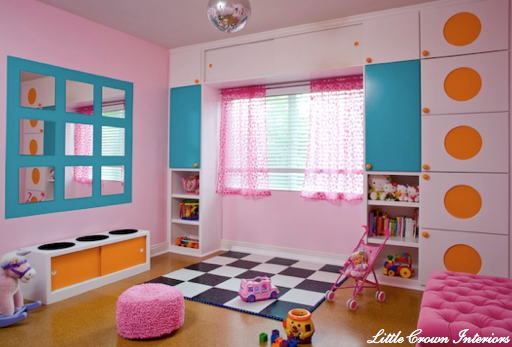 how to design an organized & stylish kids' playroom - simplified bee