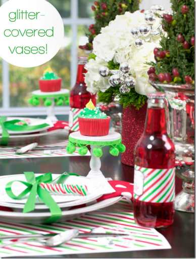 kids christmas tablesetting cute