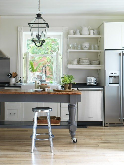 Beautiful, Functional Kitchen Islands - Simplified Bee