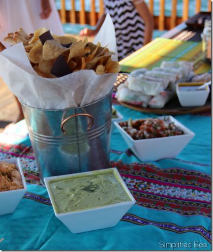 lake tahoe fiesta party food