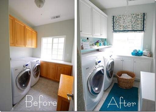 laundry room fresh design white