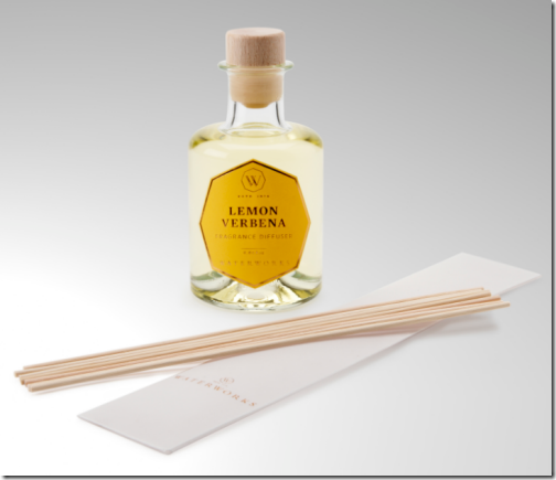 lemon verbena diffuser for bath