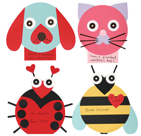 Spread the Love Cute Valentines Day Cards Simplified Bee – Cute Kids Valentines Cards