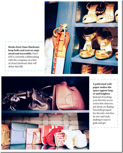 lonny stylish closet organization
