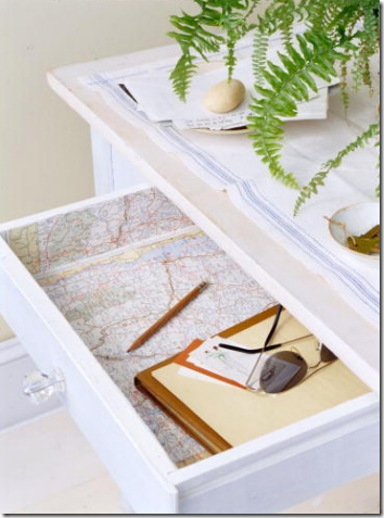 map drawer liner martha stewart