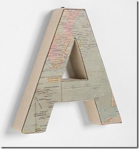 map wall letters kids rooms