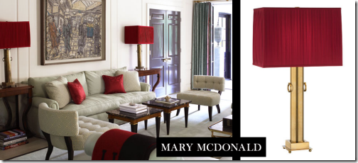 mary mcdonald lighting lamp collection