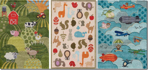 Nursery Rugs Designed To Match Other Items In The Bedding