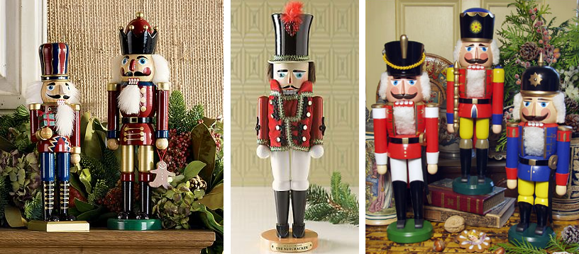 Christmas Decorating with Nutcrackers - Simplified Bee