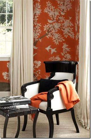 Orange October Interior Design Go Giants Simplified Bee
