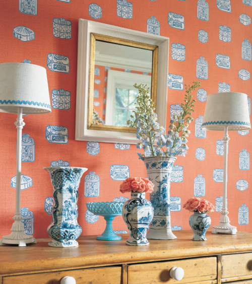 Thibaut Fabrics And Wallpapers: Friday Find: Wallpaper From Thibaut