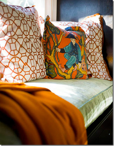 orange_designer_pillows