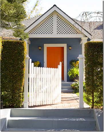 Tangerine tango pantone s color of the year 2012 simplified bee - Front door color ideas inspirations can use ...