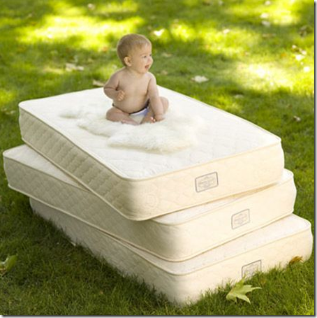 organic crib mattress for baby