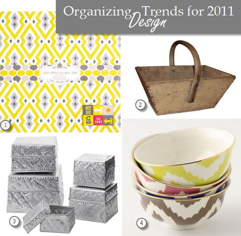 organizing design trends for 2011