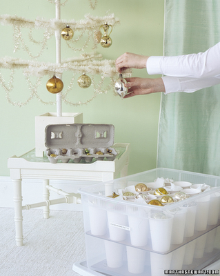 Holiday Organizing Ideas Storing Ornaments Safely Simplified Bee