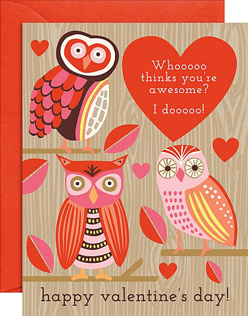 Spread the Love Cute Valentines Day Cards Simplified Bee – Owl Valentines Day Cards