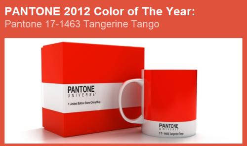 Tangerine Tango Pantone S Color Of The Year 2012