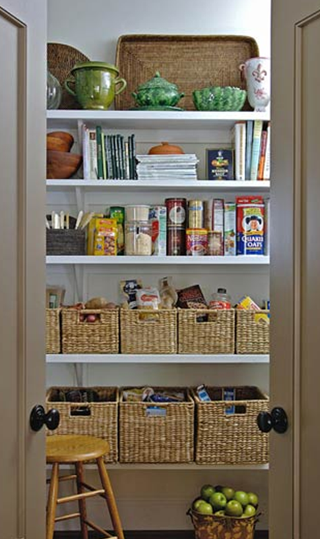 Organizing the kitchen pantry in 5 simple steps for Kitchen organization ideas