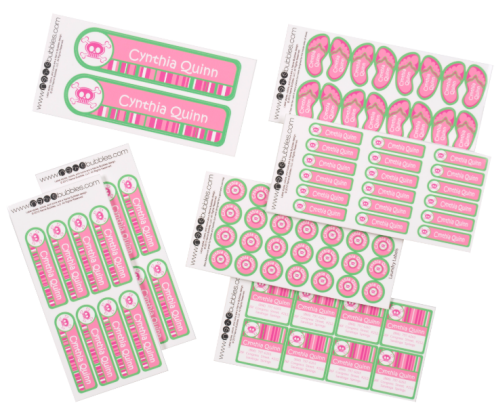 Giveaway Personalized Back To School Labels