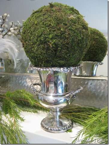 Our elegant and even glamorous christmas mantel for Elegant christmas decorations for sale